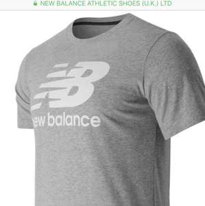 New Balance Men Classic Short Sleeve Logo Tee- Half price £10 and free shipping at New Balance