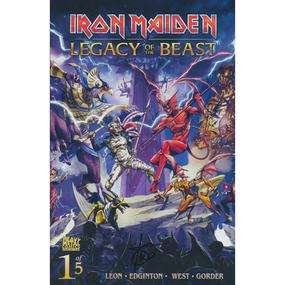 Iron Maiden Legacy Of The Beast Issue #1 First Edition Print (Cover A, B or C Casas - Signed Edition) SIGNED by Author Ian Edginton £3.35 @ Forbidden Planet