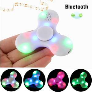 ECUBEE Bluetooth Hand Spinner Chargeable Music LED Fidget Spinneronly £1.38 delivered @ Banggood