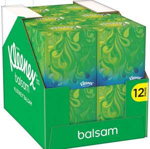 Kleenex Balsam Cubes 12 pack at Amazon £11.38 / £9.25 S&S  @ Amazon