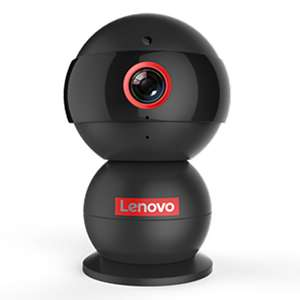 Lenovo® Snowman Thinker 720P 1.0 MP IP Camera with Day Night Baby Monitor (Support TF Up to 32G, APP Language can Choose English) #05710498 £7.56 @ LITB