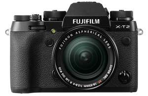 Fujifilm X-T2 Compact System Camera + XF18-55mm f2.8-4 OIS lens - £1360 (with double cashback) @ Clifton Cameras