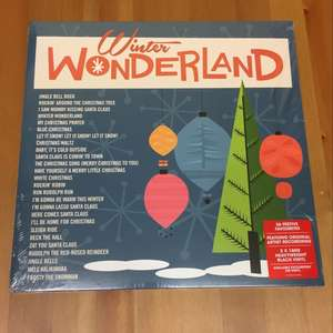 Winter Wonderland Double LP Vinyl only £10 @ Sainsburys