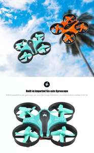 FuriBee F36 2.4GHz 4CH 6 Axis Gyro RC Quadcopter - £5.34 @ Gearbest