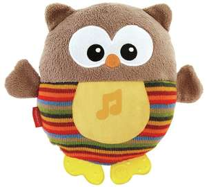 FisherPrice Soothe & Glow Owl in brown and pink in Argos - £8.49 (C&C)