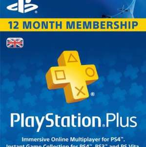 PlayStation plus 12 month U.K. membership - £36.55 @ Electronic First