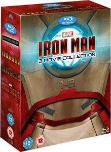Iron Man 1-3 Blu Ray £13.49 Zavvi with code unidays10