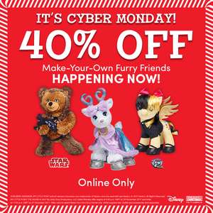 Build a Bear cyber monday on now! Items from £10.20