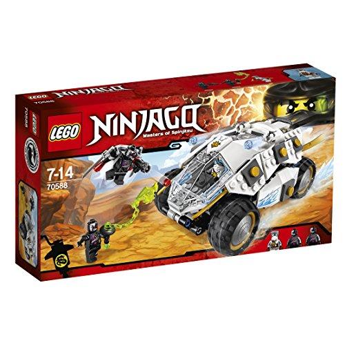 Lego Ninjago Titanium set - £6.25 instore @ Sainsbury's (Selhurst) - RRP £44.99