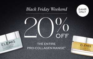 Black Friday Special | 20% Off Pro-Collagen Range*@ELEMIS