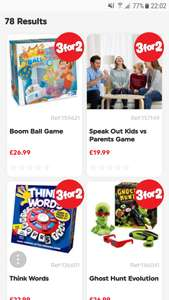 3 for 2 on ALL board games at Smyths