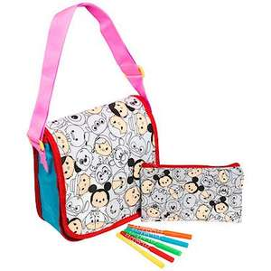 Disney Tsum Tsum Colour Your Own Bag £5.00 Reduced from £15.00 at The Entertainer