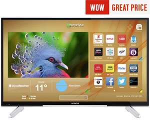 Hitachi 43 Inch 4K Ultra HD Smart LED TV £299 @ Argos
