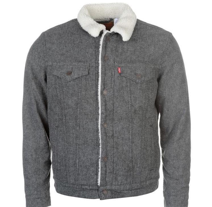 Levis Sherpa Trucker Jacket £50 @ USC