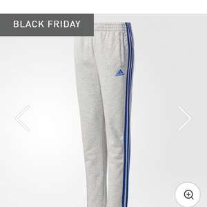 Boys Adidas 3 stripes fleece pants £9.79 Black Friday sale @ Adidas