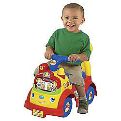 Fisher Price Time to Learn Ride On Car half price at Tesco Direct £20
