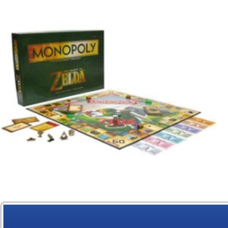 Nintendo Zelda Monopoly £19.99 @ Forbidden Planet