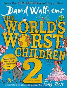 David Walliams book £4.50 (Prime) / £6.49 (non Prime) at Amazon