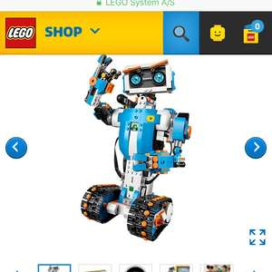 Lego Boost - Only £119.99 with Free Nutcracker Set, Free Delivery & 119 VIP Points @ Lego Shop