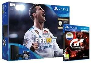 PS4 Slim 1TB Fifa 18 + Gran Turismo Sport £229.99 - Shopto on ebay