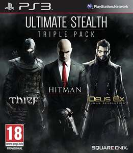 Ultimate Stealth Triple Pack PS3. £5 + £1.50 p&p @ CEX
