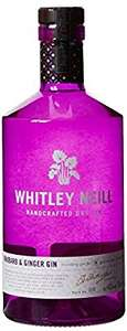 Whitley Neill Rhubarb & Ginger Gin 70cl £18 (Prime) / £22.75 (non Prime) at Amazon