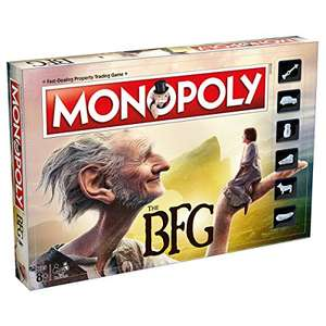 The BFG Monopoly £13.55  (Prime) / £18.30 (non Prime)  Sold by Helgy and Fulfilled by Amazon