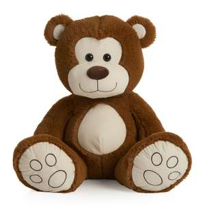 Large Soft Toys -  for eg Barry The Bear Plush (was £20) now £10  @ Wilko