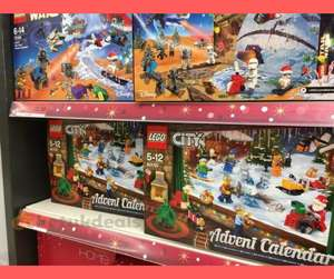 LEGO advent calendars, £10 in store at Sainsbury's