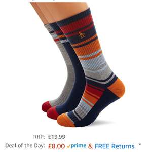 Mens penguin socks £8  (Prime) / £11.99 (non Prime) at Amazon
