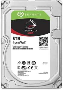 Seagate Ironwolf 8tb NAS drive- £199.99 @ box.co.uk incl free delivery