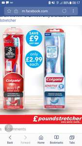 Colgate max-white and sensitive pro relief tooth brush and pens just £2.99 rrp £11.99 @ poundstretcher