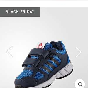 Adidas infant boys trainers £13.69 delivered and 100 days returns policy with code