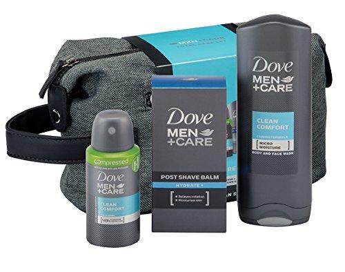 Dove Men + Care Total Care Wash Bag Gift Set £4.80  (Prime) / £9.55 (non Prime) at Amazon
