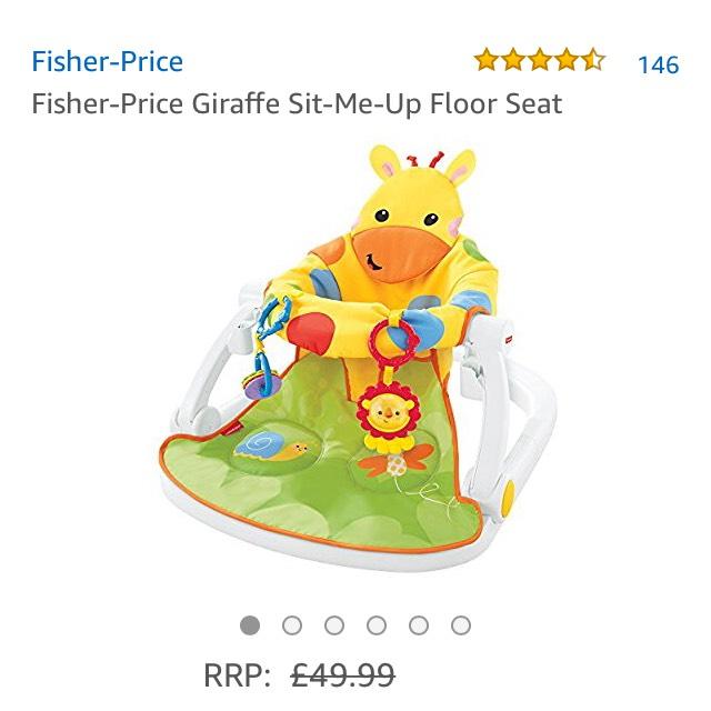 Fisher Price Giraffe sit me up floor seat £27.50 @ Amazon