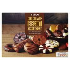 Tesco Chocolate Biscuit Assortment 450G/Chunky Cookie Assortment 420G Half Price £2.00 @ Tesco