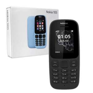 FREE unlocked nokia 105 (2017)  + £10 topup - £7.50 Quidco cashback @ CPW