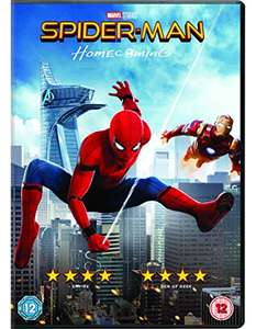 Spider-Man Homecoming DVD - £7 On Amazon (Prime Exclusive)