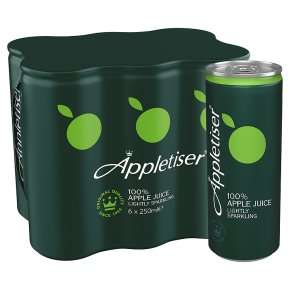 Waitrose - Appletiser 6x250ml, £2 a pack, Online & In-store