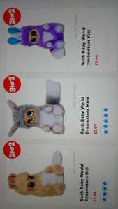 Bush baby world £7.99 each or 3 for 2 @ symths