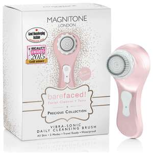 Magnitone London Barefaced Vibra-Sonic Daily Cleansing Brush, £31.98 delivered @ Groupon