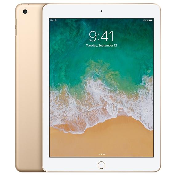 Apple Certified Refurbished iPad Wi-Fi 128GB - Gold - £359 @ Apple