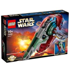 LEGO Slave 1 reduced again at Smyths - £12 Black Friday discount still available today! - £122.99