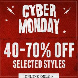 Typo- 40-70%  off selected styles great for stocking fillers