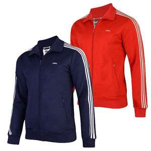 Adidas Originals Mens Beckenbauer Zip Up Track Top Jacket (Red Or Navy) £29.94 @ eBay / apparelicks