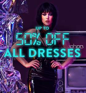 BooHoo Cyber sale with 50% off