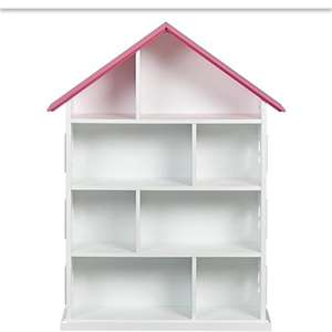 Dolls house shape bookcase £24 George Asda