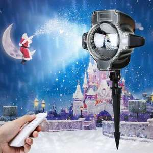 Waterproof Snowflake Projector with remote control  £5.31 Gearbest