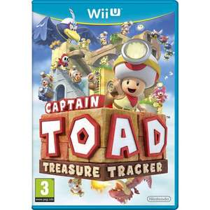 Captain Toad Treasure Tracker (Wii U) £9.96 -  Toys R Us click & collect - £9.96