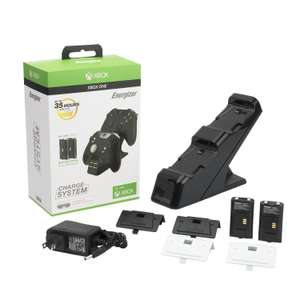 Microsoft Licensed Energizer 2X Charging System (Xbox One) @ Base eBay - £12.99